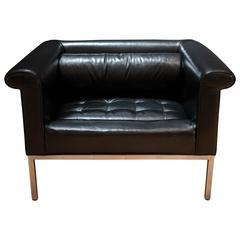 Vintage Milo Baughman Tufted Club Chair