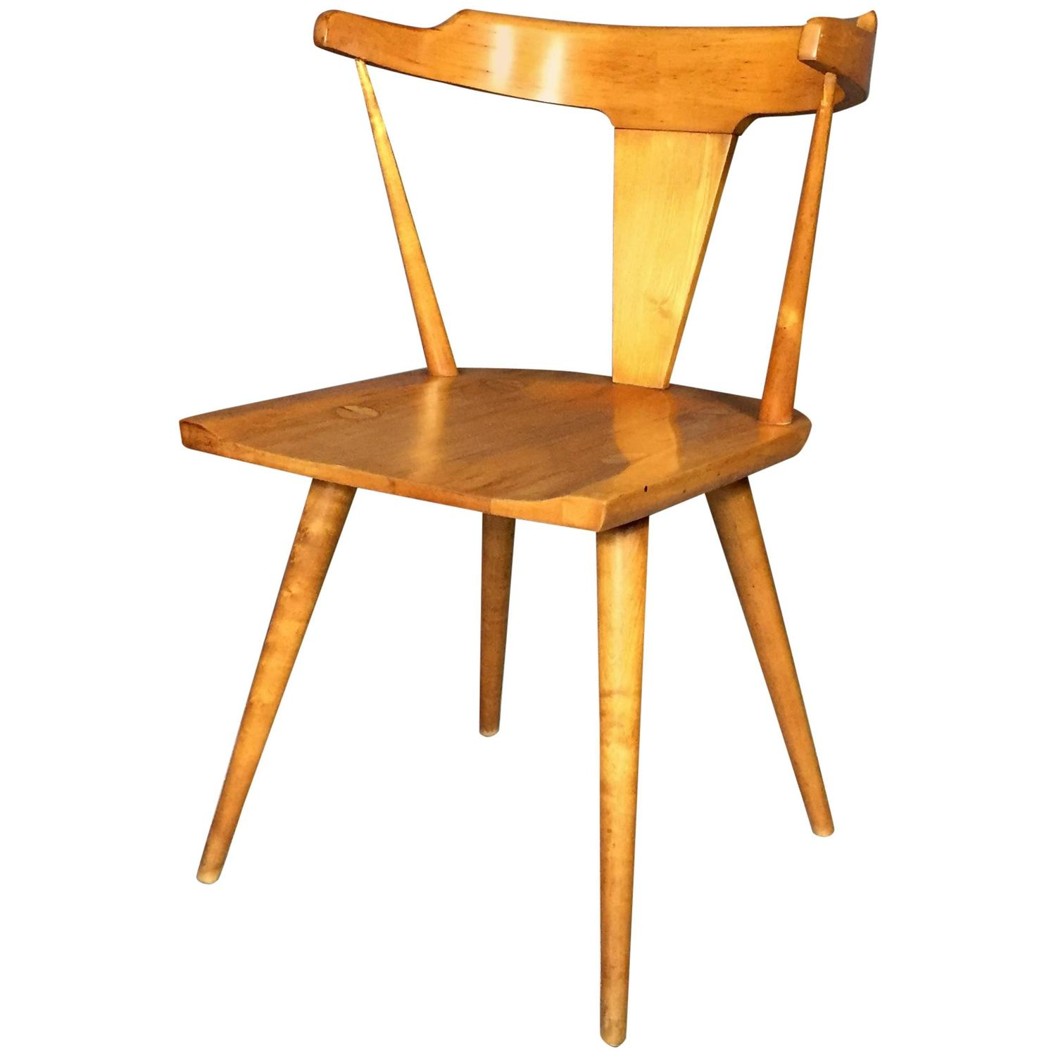Solid Birch Dining Chair by Paul McCobb for Planner Group