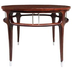 Sculptural Side/Center Tablein the Manner of Monteverdi-Young