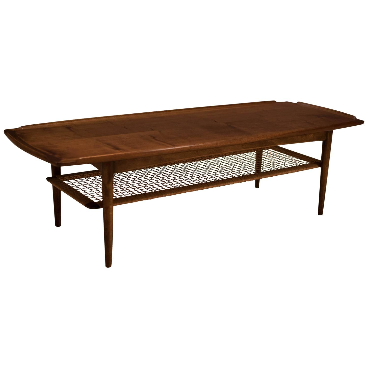 danish selig poul jensen coffee table at 1stdibs. Black Bedroom Furniture Sets. Home Design Ideas