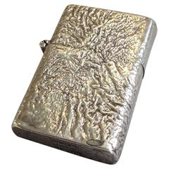 Tiffany Sterling Samodorok Finish Zippo Lighter