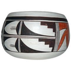 Joy Navasie Native American Hopi Poly-Chrome Bowl