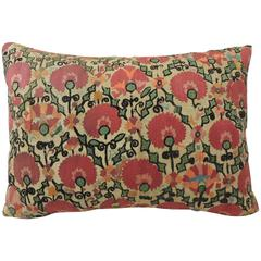 Turkish Embroidery Floral Pillow