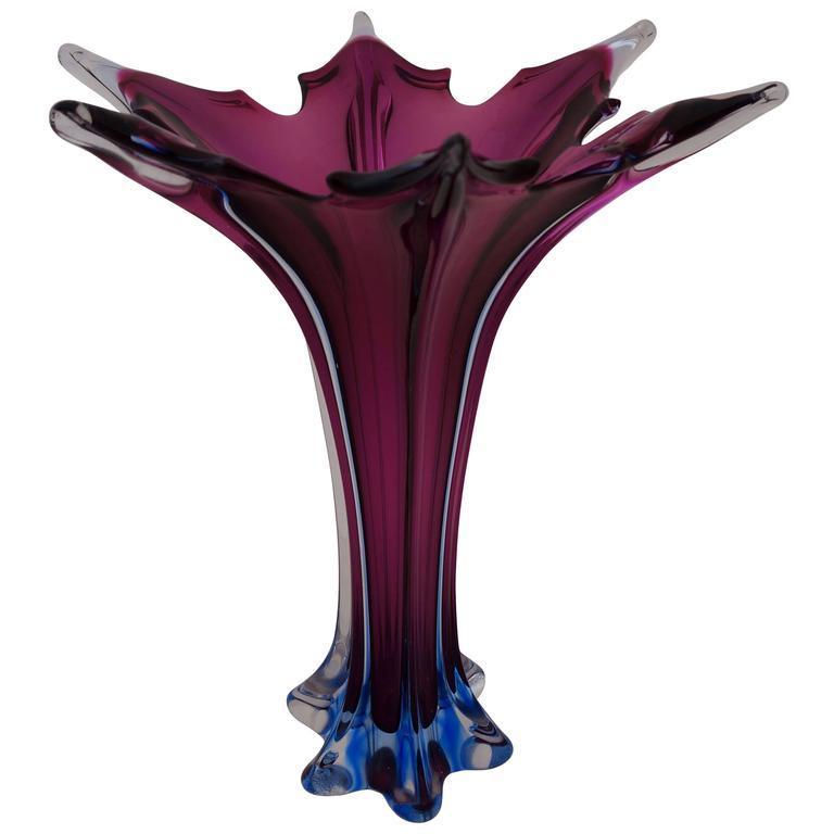 20th Century Italian Murano Glass Vase