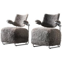 Harri Korhonen Pair of Lounge Chairs