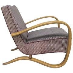 Single Lounge Chair by Halabala