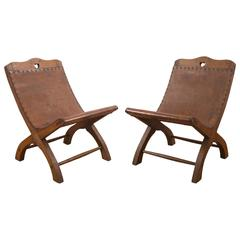 """Pair of Spratling """"Butaquito"""" Chairs"""