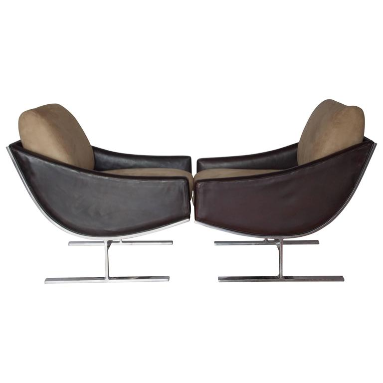 Kipp Stewart Lounge Chairs for Directional Furniture at