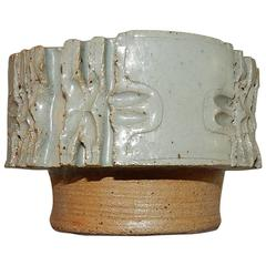 Marie Hjorth Studio Ceramic Hand Thrown Bowl, circa 1960s-1970s