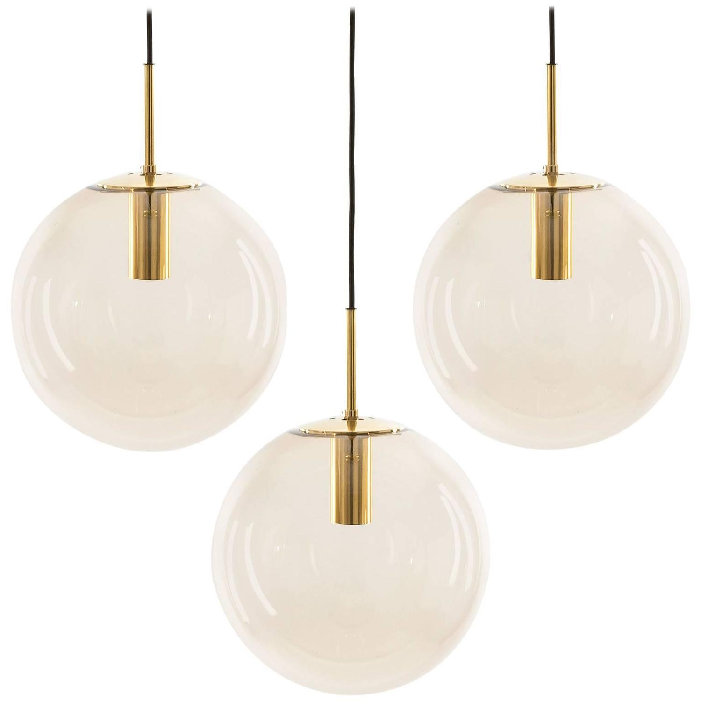 Limburg pendant lights brass and brown glass globes 1960s for sale limburg pendant lights brass and brown glass globes 1960s for sale at 1stdibs aloadofball Gallery