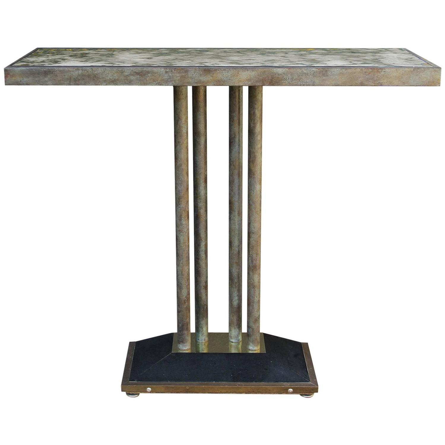 console table from drouant restaurant paris for sale at 1stdibs. Black Bedroom Furniture Sets. Home Design Ideas