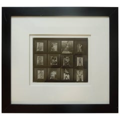 1950s Male Physique Original Proof Sheet