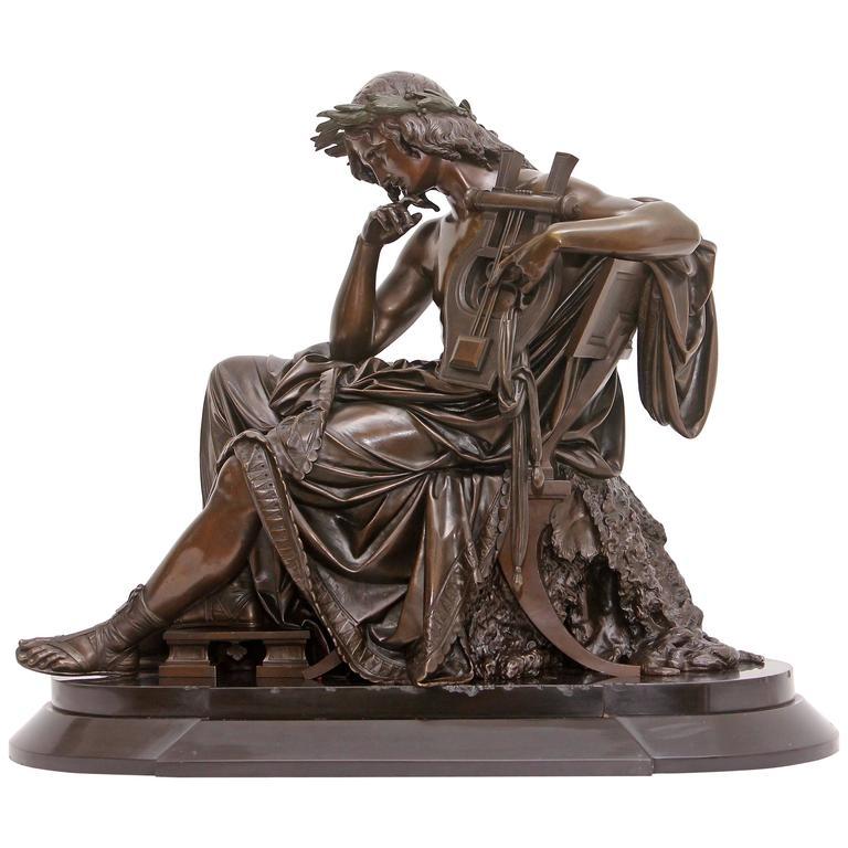 """Bronze Sculpture """"Orpheus"""""""