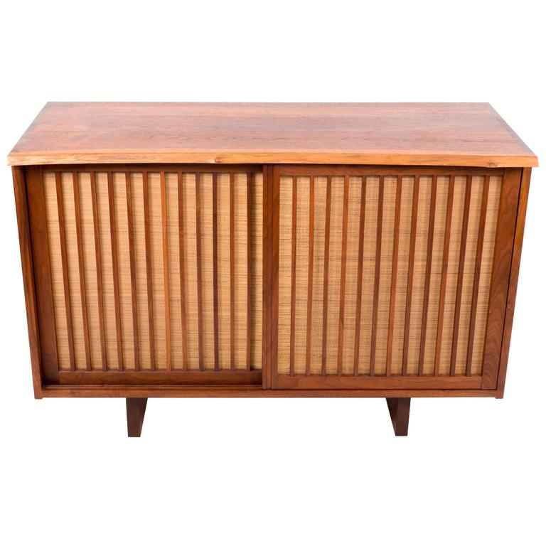 Walnut Cabinet by George Nakashima For Sale