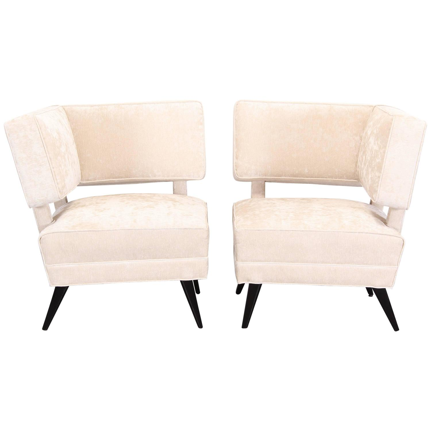 Furniture Sale New York: Custom Chairs From The Tate Hotel New York, 1940 For Sale