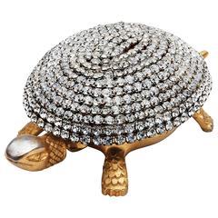 Mid-Century Paste Diamond Toledo Tortoise Bell by Boj Patent
