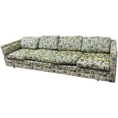 Rare Milo Baughman Four-Seat Sofa, circa 1970
