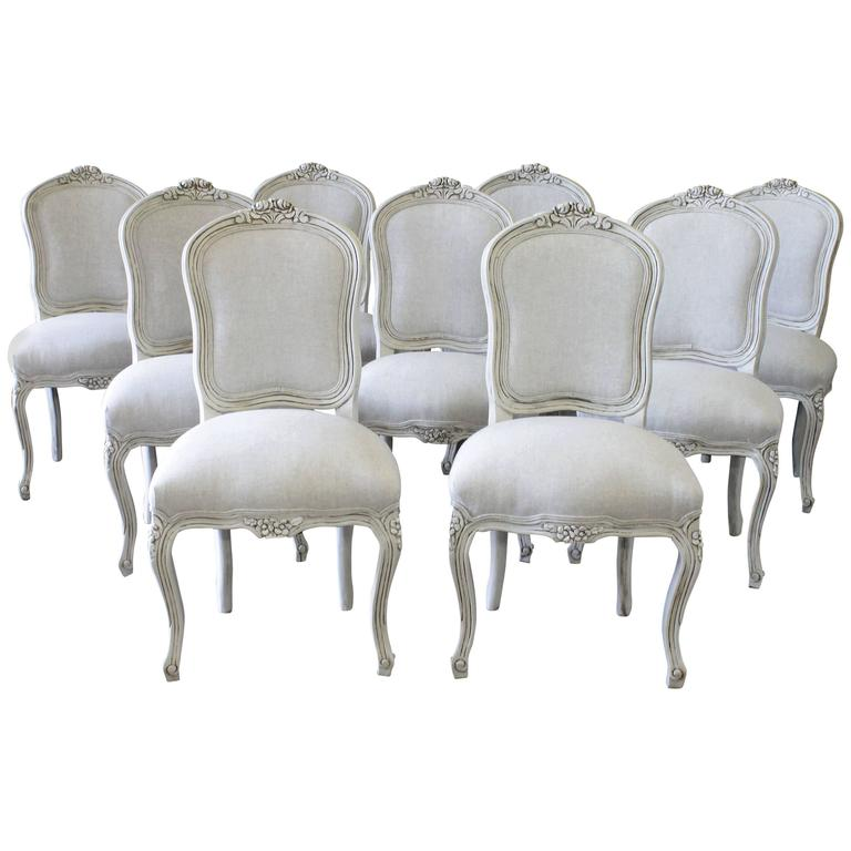 20th Century Louis XV Style Dining Chairs at 1stdibs