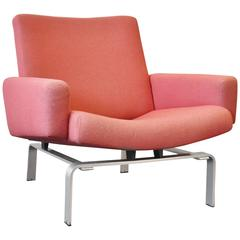 Rare Lounge Chair by Jørgen Høj for Niels Vitsoe, 1960s