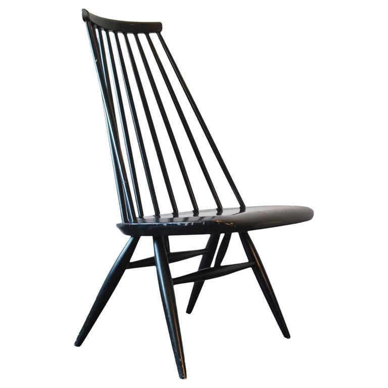 'Mademoiselle' Lounge Chair by Ilmari Tapiovaara for Edsby Verken, Marked 1958