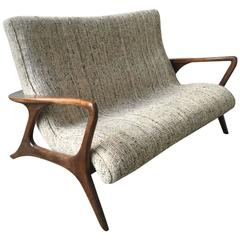 Wonderful Vladimir Kagan Contour Loveseat