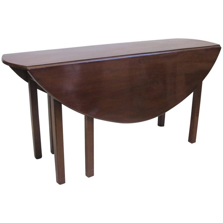 18th Century Irish Oval Dining Table