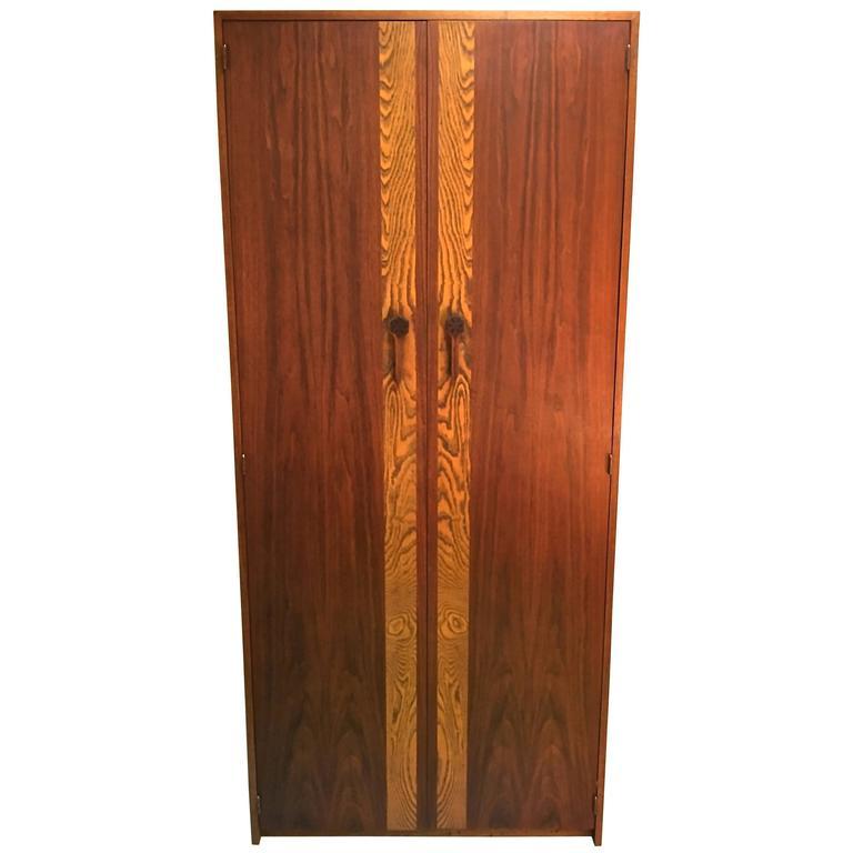 1960s Walnut Gentleman S Dressing Cabinet By John Keal For