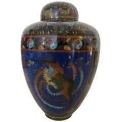 Beautiful 18th Century, Japanese cloissone urn