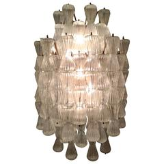 Large Wall Light attributed to Seguso, Italy, circa 1950