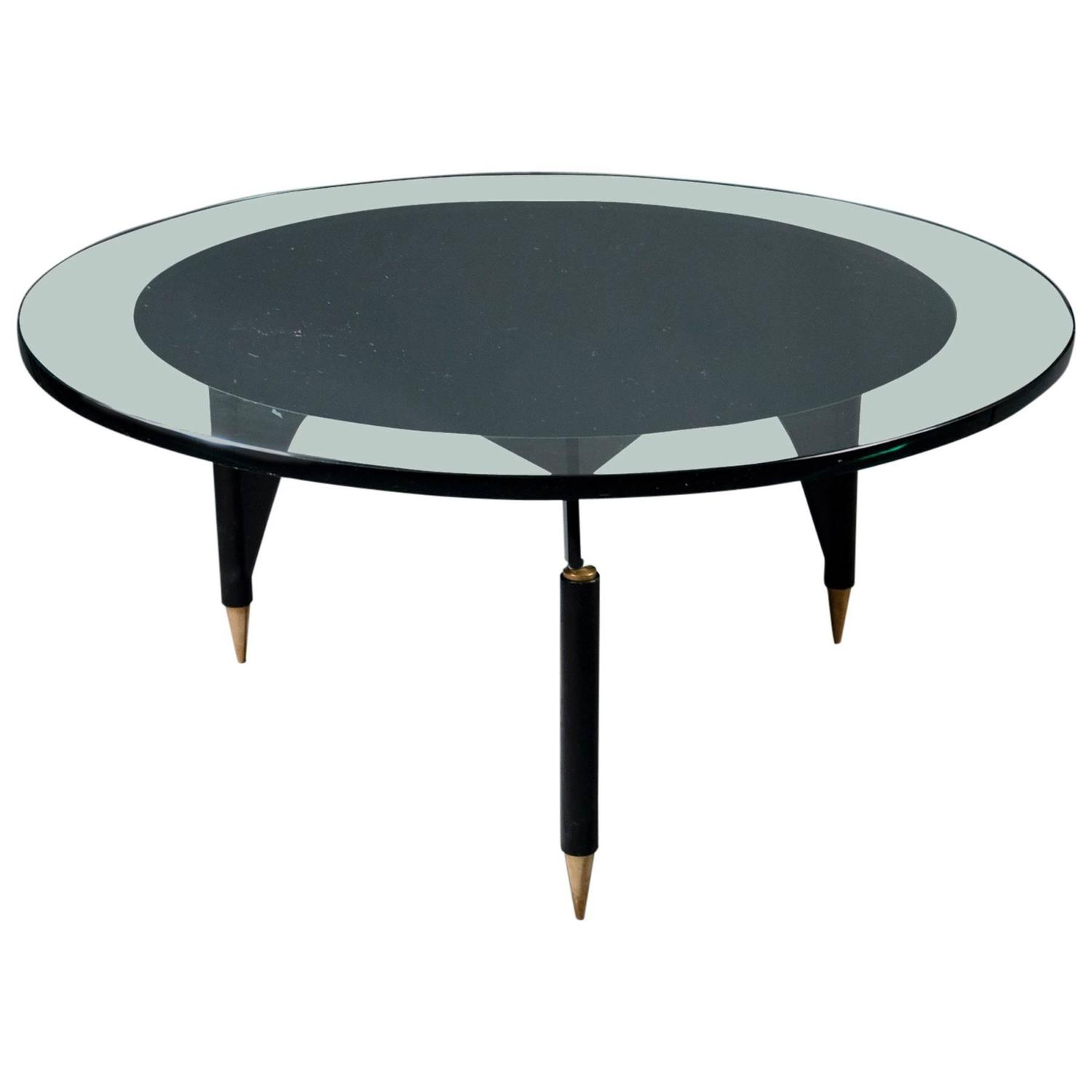 coffee table by max ingrand fontana arte italy milan circa 1960 for sale at 1stdibs. Black Bedroom Furniture Sets. Home Design Ideas