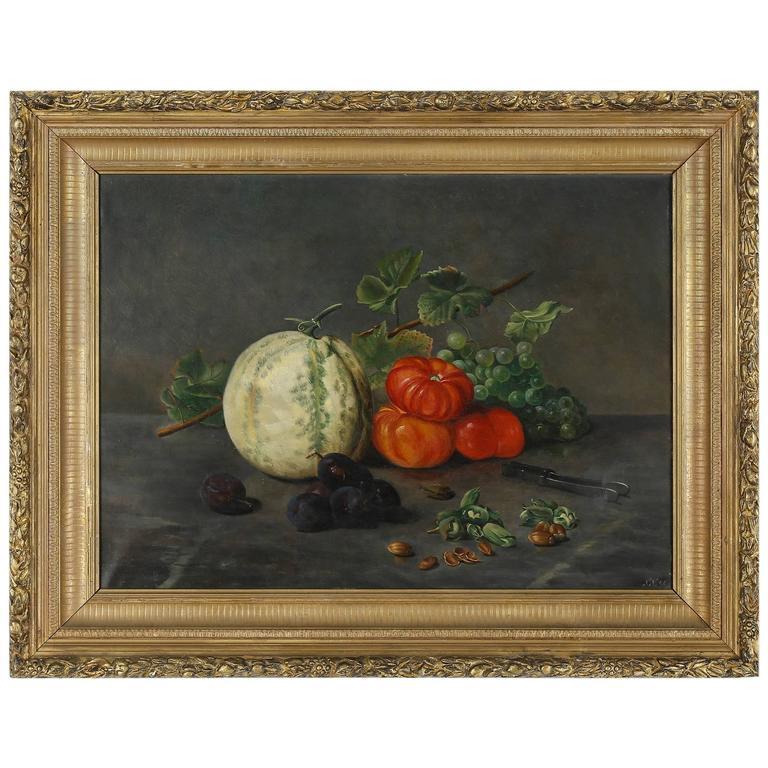 Late 19th Century Still Life of Fruit