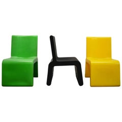 Colorful Modern WL&T Chairs by Marc Newson for Walter Van Beirendonck Fashion
