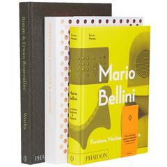 Contemporary Designers Book Collection Bellini Scholten & Baijings Bouroullec