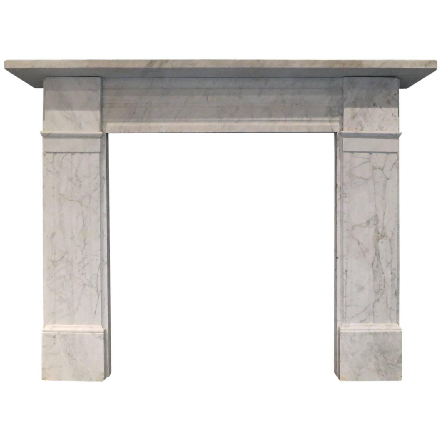 Antique victorian marble fireplace mantel for sale at 1stdibs for Marble mantels for sale