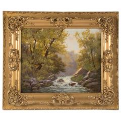 20th Century Painting Titled Trout Brook 'Utah' by Henry Culmer