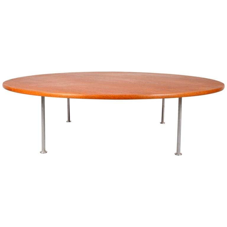 Large Coffee Table By Hans J Wegner For Andreas Tuck Denmark Circa 1960 For Sale At 1stdibs