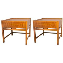 Pair of Edmond Spence End Tables