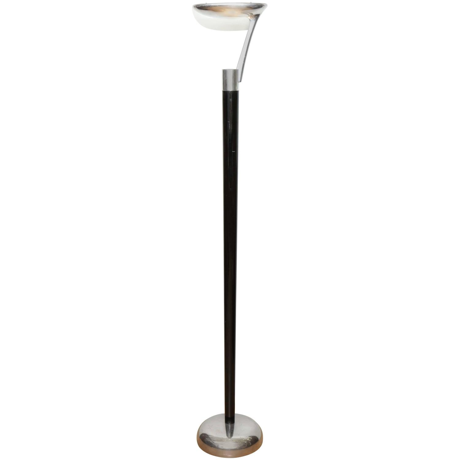unique mid century modern floor lamp for sale at 1stdibs. Black Bedroom Furniture Sets. Home Design Ideas