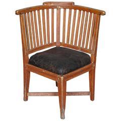 Period Gustavian Corner Chair