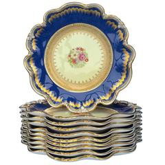 William VI Porcelain Plates