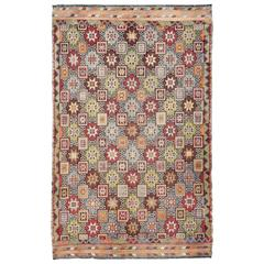 Kilim/Jajeem with Star Design