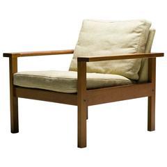 Hans J. Wegner Oak Armchair