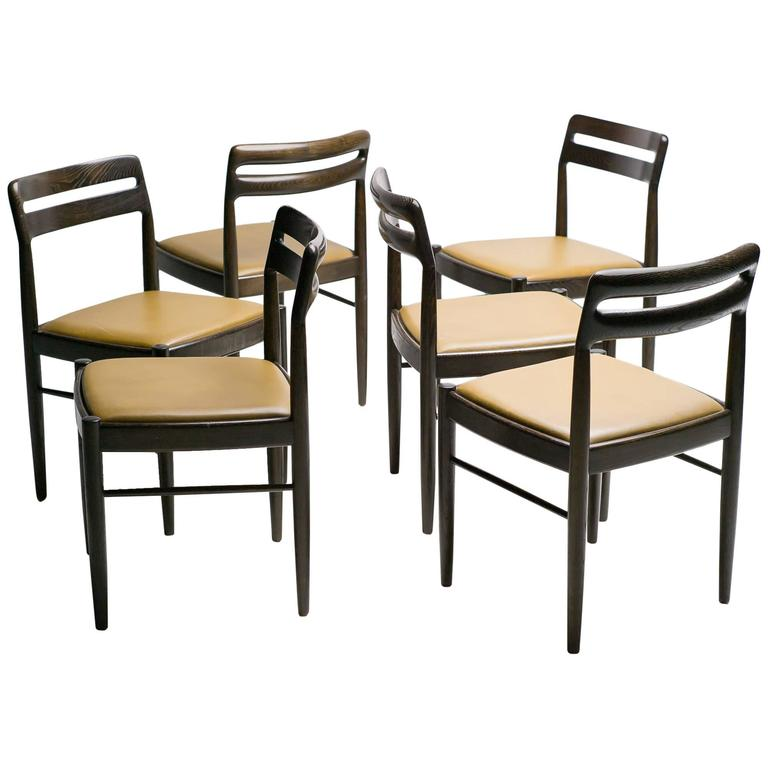 danish dining chairs by h w klein for bramin m bler denmark for