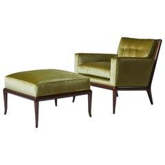 Lounge Chair and Ottoman by TH Robsjohn-Gibbings