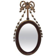 English Adam Style Mirror, circa 1880