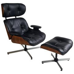 Chair and Ottoman by George Mulhauser for Plycraft, Eames Style