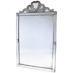 All-Glass Mirror France, circa 1900