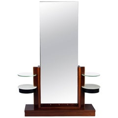Hall Mirror by André Sornay, France, Art Moderne, 1940s