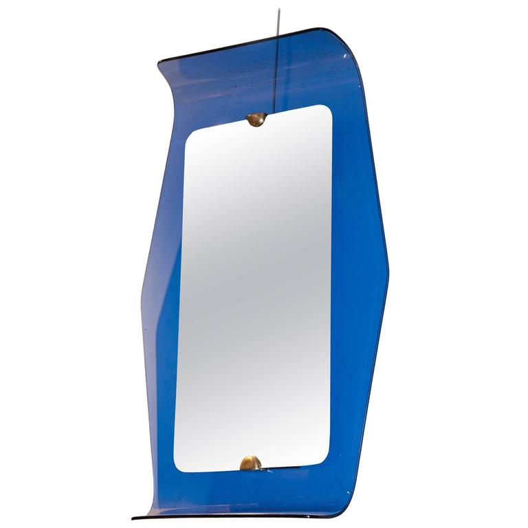 Mirror by Cristal Art, Italy, circa 1960 For Sale