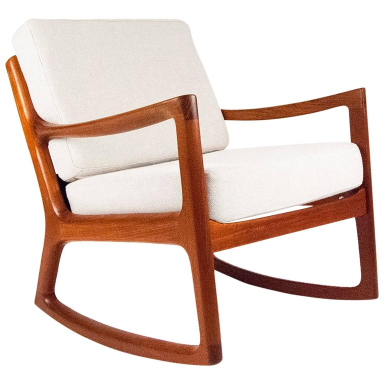 Beau Ole Wanscher U0027Senatoru0027 Danish Rocking Chair, ...